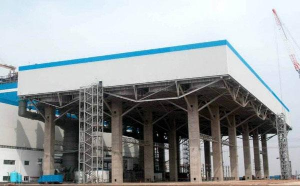 Системы воздушного охлаждения выполнено на Улашанской ТЭС